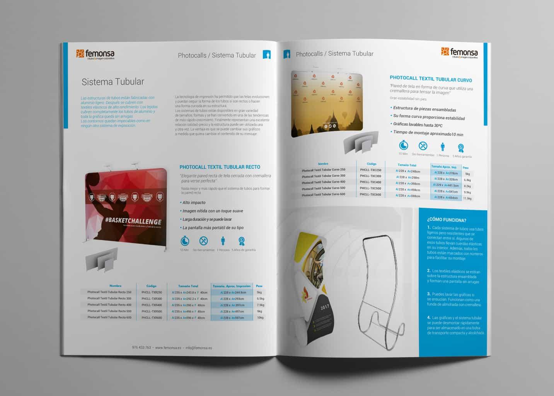 diseño catálogo